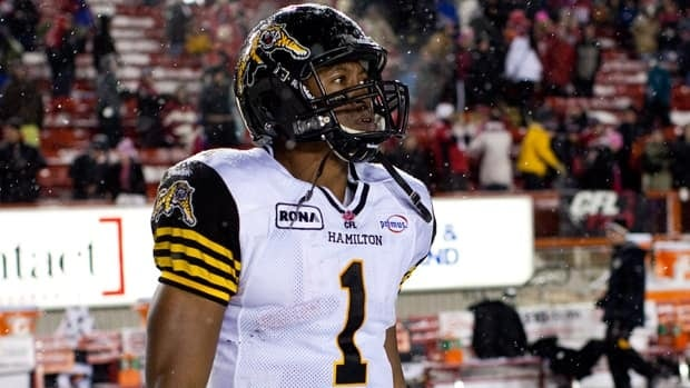 Hamilton QB Henry Burris a eager to teach his youngest son, four-year-old Barron, all about the Grey Cup's rich history.