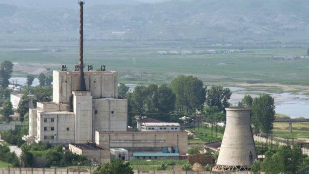 The North Korean nuclear plant in Yongbyon, pictured in 2008, may have had a reactor capable of producing plutonium for weapons restarted.