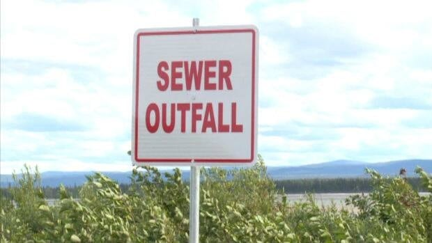The stench of sewage in an area of Happy Valley-Goose Bay has caused many residents to stay inside their homes.