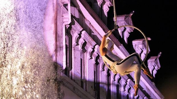 Circus Orange dazzled crowds at Supercrawl last year, and they're back this year with an even bigger show.