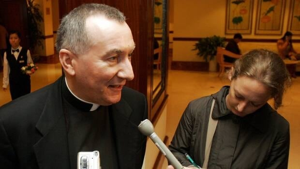 Archbishop Pietro Parolin, the Vatican's new secretary of state, has suggested that the Vatican is ready to open a discussion about whether its priests should remain celibate.