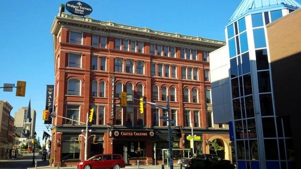 The Walper Hotel in downtown Kitchener. The landmark was sold to a group of 4 new owners.