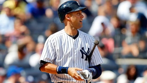 New York Yankees shortstop Derek Jeter played in only 17 games, batting .190 with one homer and seven RBIs.