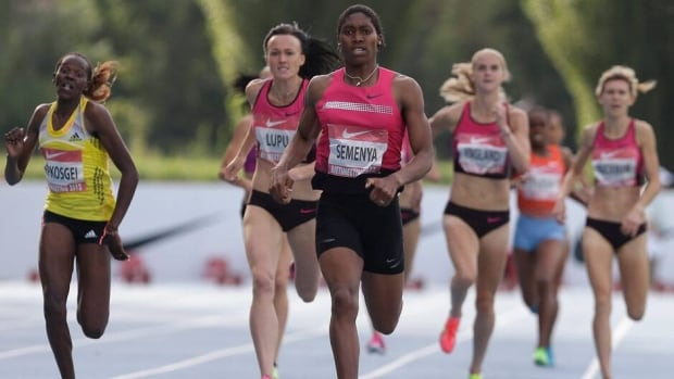 South Africa's Caster Semenya missed last month's worlds in Moscow due to a right knee injury.