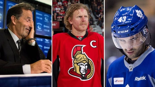 John Tortorella in a new role behind the Canucks bench, the Senators moving on without longtime captain Daniel Alfredsson and the Leafs entering an uncertain contract situation with Nazem Kadri are three things to follow as Canadian NHL clubs approach camp.