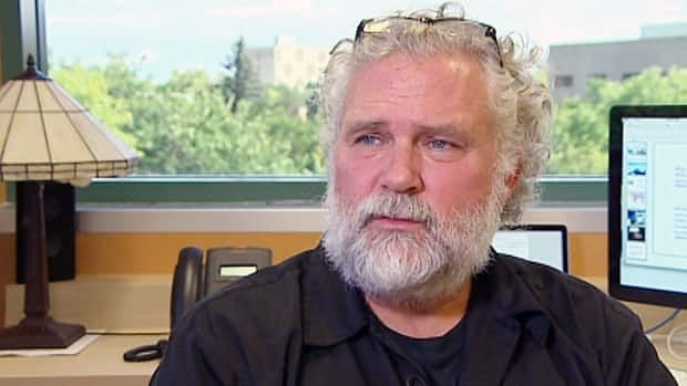 David Barber says it could have been him on the helicopter that crashed in the Arctic Monday night, claiming the life of Barber's colleague Klaus Hochheim.