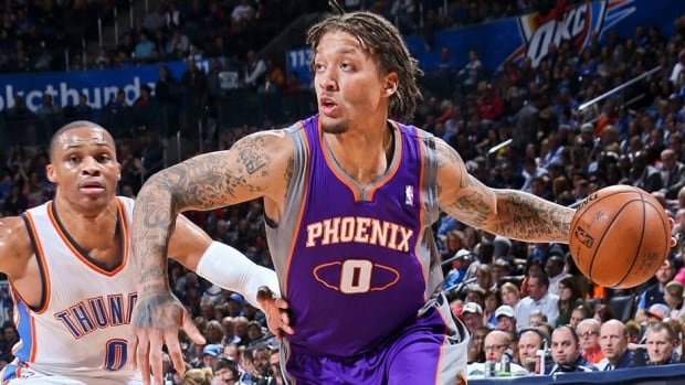 Michael Beasley, seen here with the Phoenix Suns, has signed on with the NBA champion Miami Heat. Beasley was originally drafted by the Heat back in 2008, but since being traded in 2010 has had a troubled career.