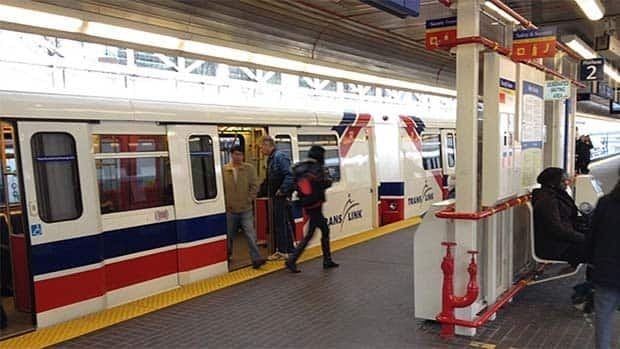 The suspect is alleged to have sexually assaulted three women on a SkyTrain on Saturday, August 31