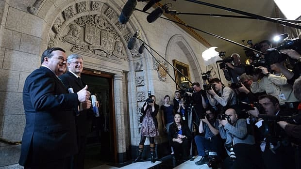 By the time Finance Minister Jim Flaherty and Prime Minister Stephen Harper entered the House of Commons for the federal budget last Thursday, the media had already spent most of the day discussing tariffs on hockey equipment, a move leaked to media ahead of time.