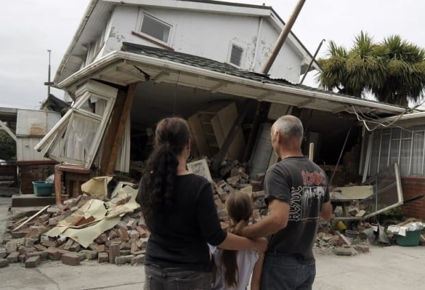 Family home destroyed