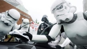 Storm troopers get to work