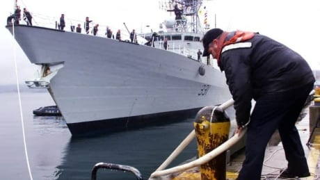 HMCS Vancouver Persian Gulf