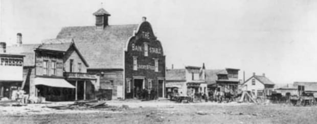 Before the fire - Calgary 1886