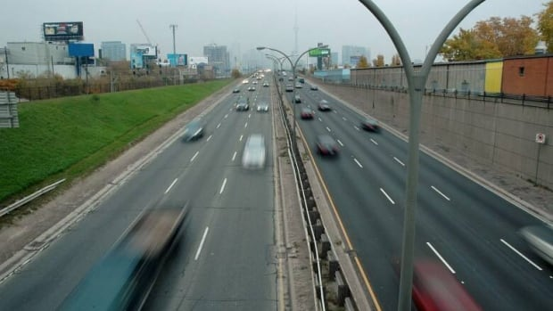 The Gardiner Expressway between Carlaw and the Humber River will be closed this weekend for regular maintenance.