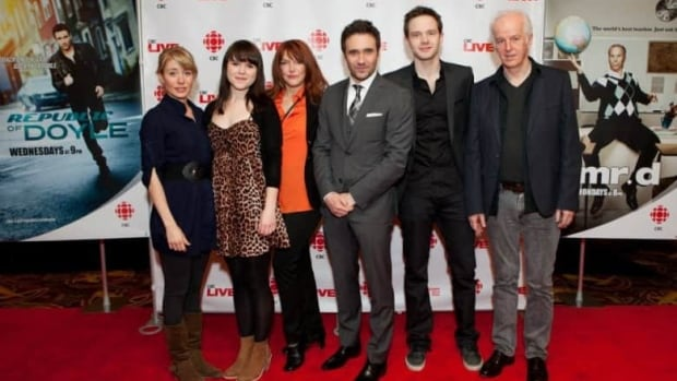 The cast of Republic of Doyle on the red carpet