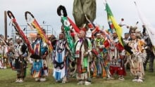 Grand Entry at the Pow Wow