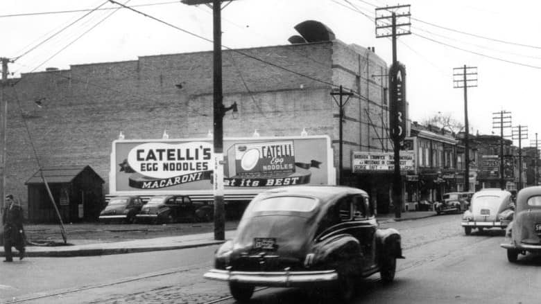 The Metro Theatre is shown here when it first opened in April 1939.  (Supplied by Paul Moore/Toronto archives)