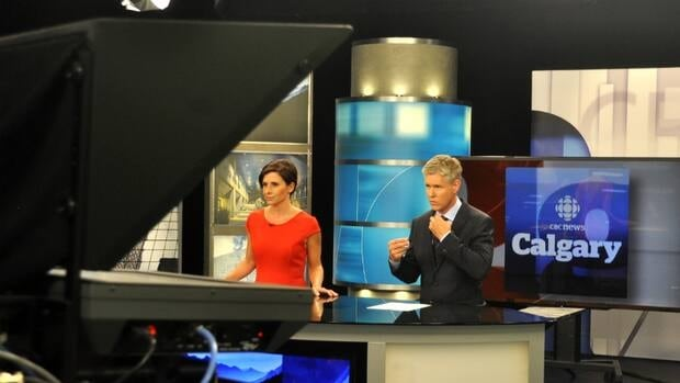 Rosa Marchitelli and Rob Brown debut as co-hosts of CBC News Calgary at 5, 5:30 and 6 on Sept. 23.