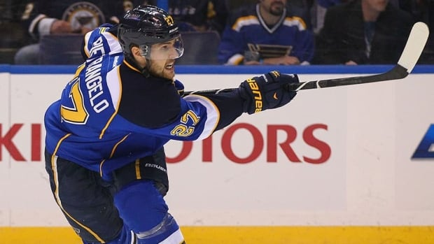 St. Louis Blues defenceman Alex Pietrangelo agreed to a new seven-year extension Friday.