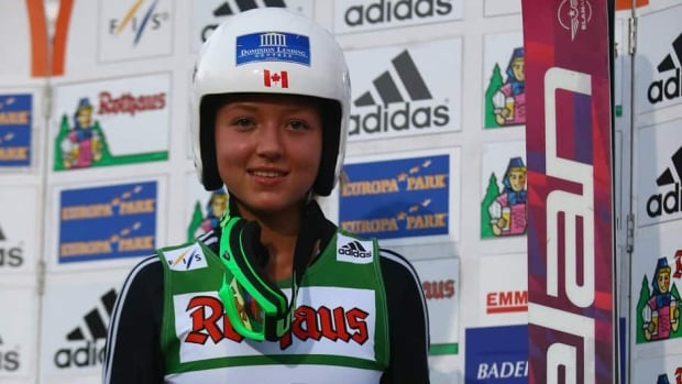 Alexandra Pretorius, shown in this file photo after winning the women's competition of the FIS Ski Jumping Summer Grand Prix at Rothausschanze in July in Germany, had surgery to repair a torn ACL in August.