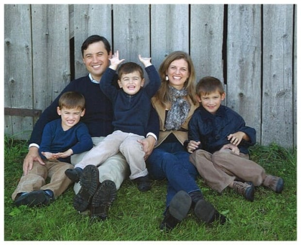 Michael Chong and family