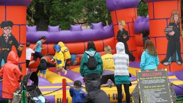 Under new guidelines in Cornwall inflatables at municipal events will be closely supervised.