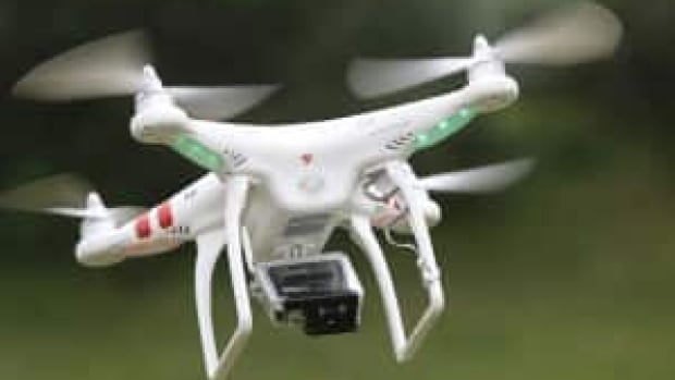 It's illegal in Canada to fly an unmanned aerial vehicle near a wildfire.