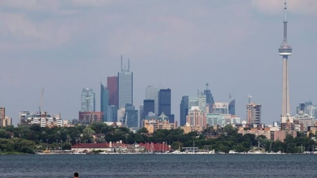 Toronto's skyline on July 17, 2013.