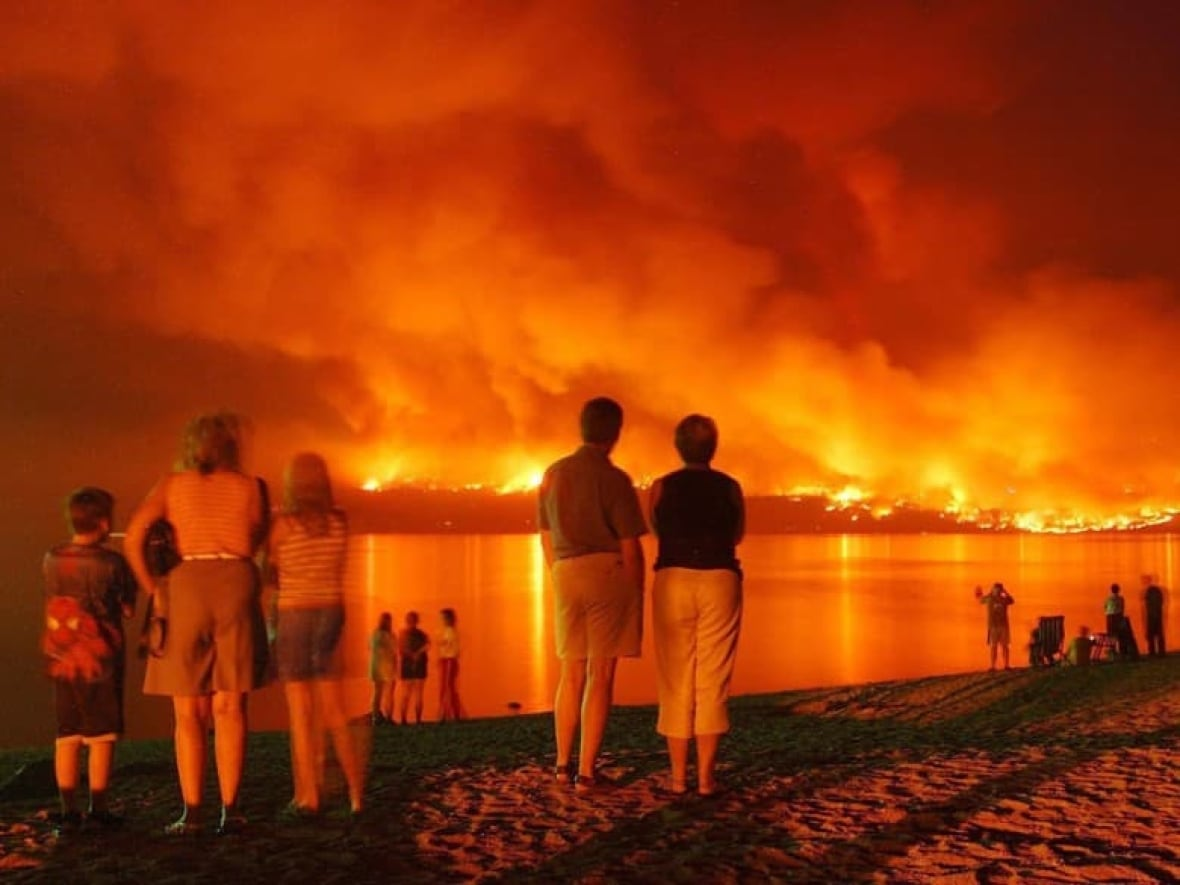 Smoked In A Look Back At B C S Haziest Wildfire Seasons Over The Past 20 Years Cbc News