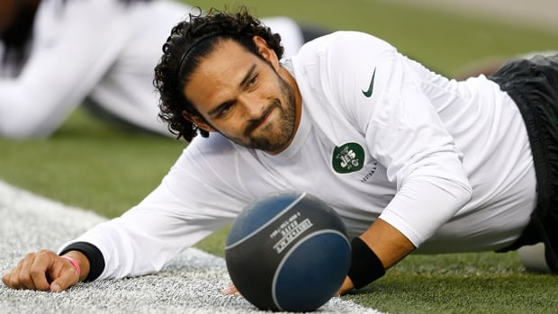 Jets quarterback Mark Sanchez is shelved the next eight weeks with a bum throwing shoulder.