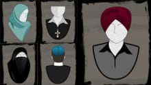 Religious headgear that would be banned for public servants under proposed Quebec values charter