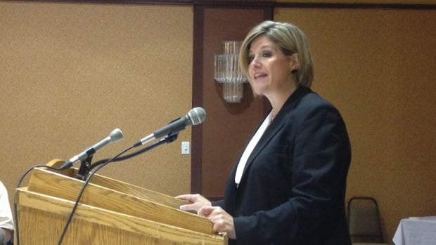 Ontario NDP leader Andrea Horwath told supporters that her party respects Northerners.
