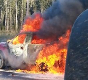 Fiery Truck - Highway 63