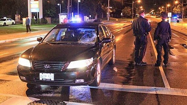 A 23-year-old man succumbed to his injuries in hospital, hours after he was struck by a Hyundai on Steeles Avenue West.