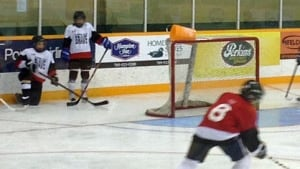 Copper Cliff hockey players