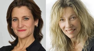 Chrystia Freeland and Linda McQuaig rivals in Toronto Centre