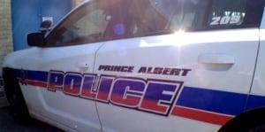 Prince Albert Police Service car