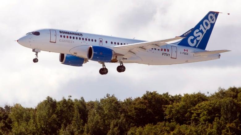 Bombardier CSeries 20130916