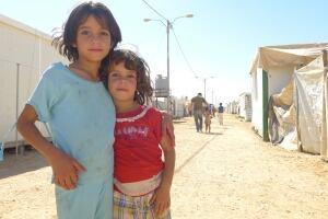 Za'atari children