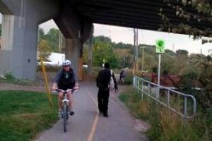 bike pathways calgary