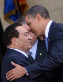 Nobel Peace Obama Mubarak