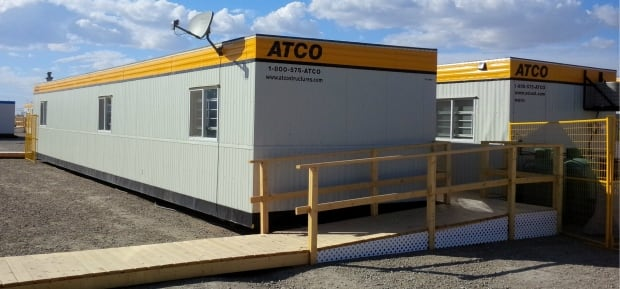 Temporary homes for Siksika Nation flood victims