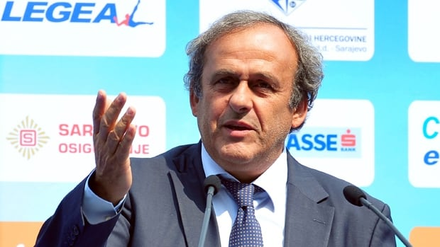 UEFA president Michel Platini won't consider running for the FIFA presidency until 2014.