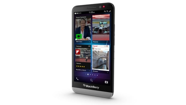 The BlackBerry Z30 runs the BlackBerry 10 OS version 10.2 and is larger than the Z10, with a 5-inch touch screen.