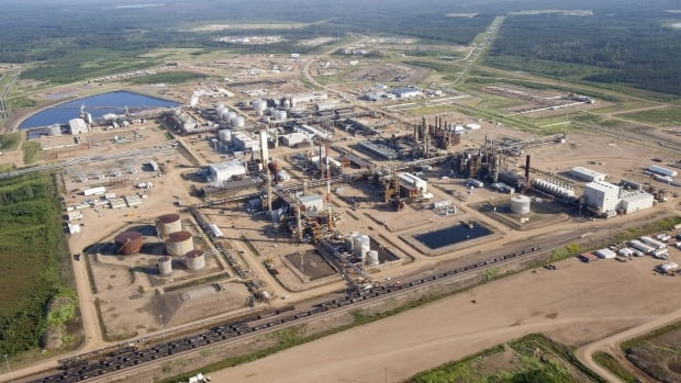The Nexen oilsands facility near Fort McMurray, Alta., is now owned by CNOOC, which listed on the Toronto exchange today.