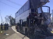 TSB crashed bus