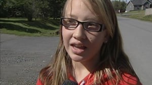Grade 5 student Valerie Shay is one of the students that found the body of Aubrey Head in Glenwood