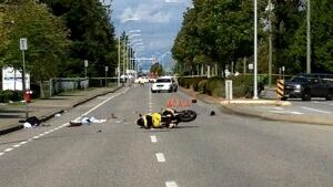 Surrey teens crash