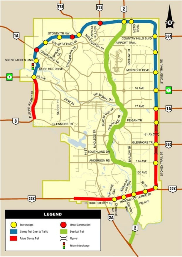 ring road map