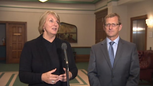 Premier Kathy Dunderdale and finance minister Jerome Kennedy says pensioners won't be affected by pension review.